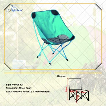 Blue Easy Folding Camping Chair