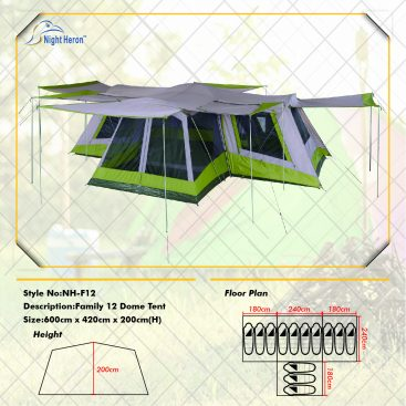 family tent 12person