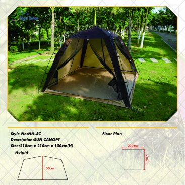 Sun canopy Shelter tent