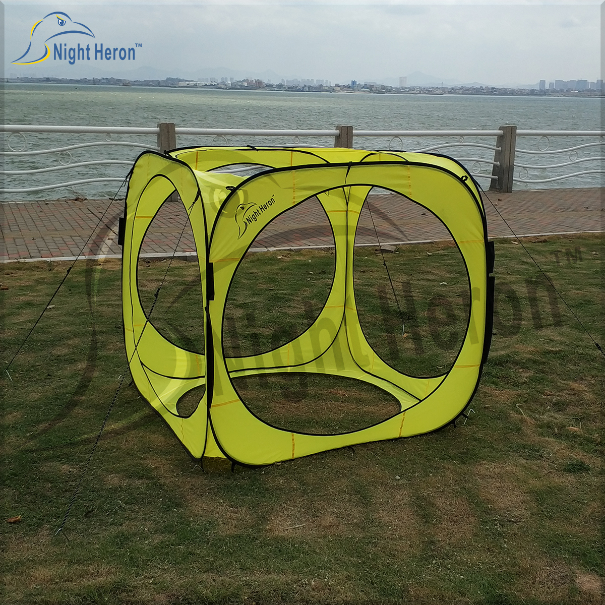 fpv racing pop up cube gates for rc dronenight heron outdoor