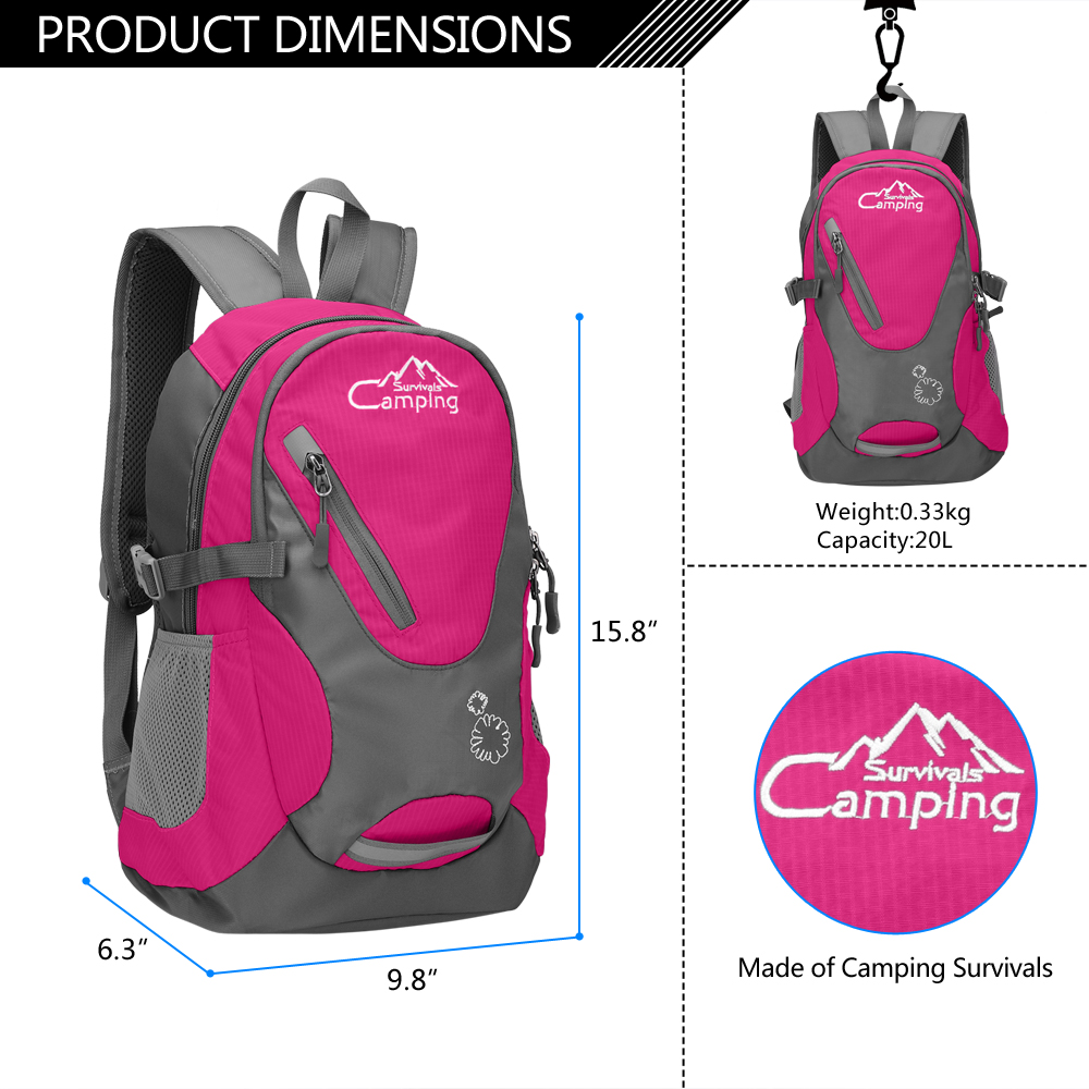 Mid-sized children's backback for hiking
